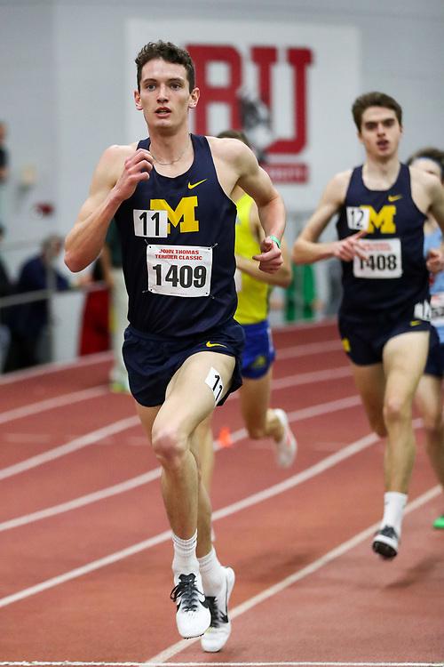 Chase Barnett, Michigan, Mile<br /> BU Terrier Indoor track meet
