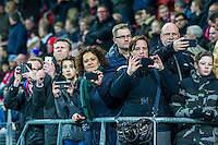 ALKMAAR - 16-02-2017, AZ - Olympique Lyon, AFAS Stadion,