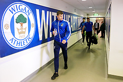 Bristol Rovers players arrive at the DW Stadium - Mandatory by-line: Matt McNulty/JMP - 16/09/2017 - FOOTBALL - DW Stadium - Wigan, England - Wigan Athletic v Bristol Rovers - Sky Bet League One