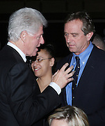 l to r: Former President Bill Clinton and Robert Kennedy Jr. at The Amsterdam News 100th Anniversary Gala held at the David H. Koch Theater at Lincoln Center on November 30, 2009 in New York City. © Terrance Jennings / Retna Ltd.