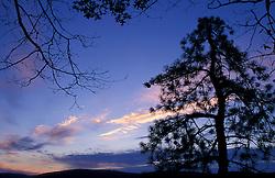 Dawn as seen from St. John's Ledges on the Appalachian Trail in CT's Litchfield Hills.  Near Kent School TPL project.  Kent, CT