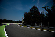 September 1, 2016: Monza detail, Parabolica , Italian Grand Prix at Monza