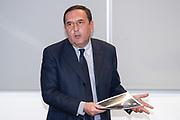 """Massimo Protani<br /> Conferenza Stampa Presentazione Progetto """"Ragazze in Tiro""""<br /> FIP 2018<br /> Milano, 30/03/2018<br /> Foto F. Bertani / Ciamillo - Castoria"""