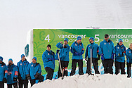 Results:.1. Belarus. GRISHIN Alexei.2. United States. PETERSON Jeret.3. China. LIU Zhongqing..www.vancouver2010.com/olympic-freestyle-skiing/schedule-a... ( http://www.vancouver2010.com/olympic-freestyle-skiing/schedule-and-results/mens-aerials-final_frm030100cJ.html )