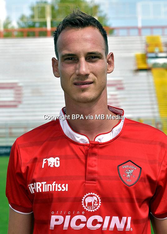 Italian League Serie B_2015-2016 / <br /> ( AC Perugia 1905 ) - <br /> Massimo Volta