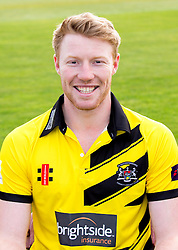 Liam Norwell of Gloucestershire Cricket poses for a headshot in the NatWest T20 Blast kit - Mandatory by-line: Robbie Stephenson/JMP - 04/04/2016 - CRICKET - Bristol County Ground - Bristol, United Kingdom - Gloucestershire  - Gloucestershire Media Day