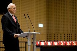 Janez Kocijancic of OKS at 45th Awards of Stanko Bloudek for sports achievements in Slovenia in year 2009, on February 9, 2010, Brdo pri Kranju, Slovenia.  (Photo by Vid Ponikvar / Sportida)