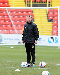 Bristol Rovers assistant manager, Marcus Stewart - Photo mandatory by-line: Neil Brookman/JMP - Mobile: 07966 386802 - 28/02/2015 - SPORT - Football - Gateshead - Gateshead International Stadium - Gateshead v Bristol Rovers - Vanarama Football Conference