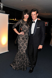 MATT SMITH and DAISY LOWE at the GQ Men of the Year 2011 Awards dinner held at The Royal Opera House, Covent Garden, London on 6th September 2011.