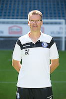Gent's assistant coach Rudi Cossey pictured during the 2015-2016 season photo shoot of Belgian first league soccer team KAA Gent, Saturday 11 July 2015 in Gent.
