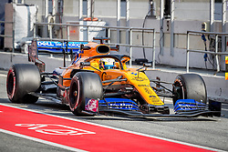 February 19, 2019 - Montmelo, Barcelona, Catalonia, Spain - Barcelona-Catalunya Circuit, Montmelo, Catalonia, Spain - 19/02/2018: Lando Norris of McLaren during second journey of F1 Test Days in Montmelo circuit. (Credit Image: © Javier Martinez De La Puente/SOPA Images via ZUMA Wire)