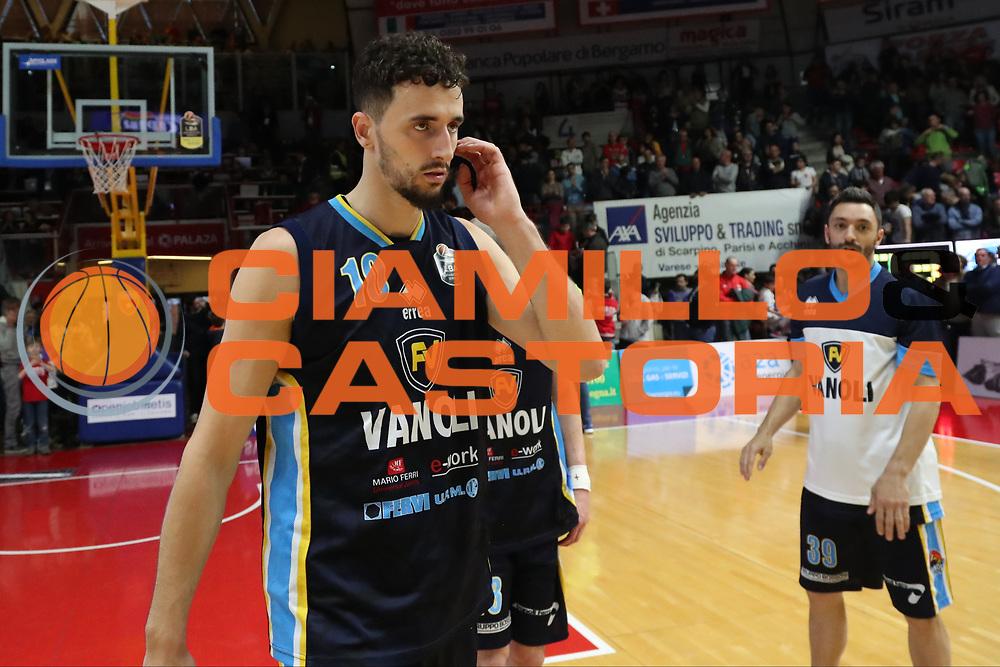Raphael Gaspardo<br /> Openjobmetis Pallacanestro Varese - Vanoli Cremona<br /> Lega Basket Serie A 2016/2017<br /> Varese 30/04/2017<br /> Foto Ciamillo-Castoria