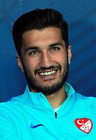 Uefa - World Cup Fifa Russia 2018 Qualifier / <br /> Turkey National Team - Preview Set - <br /> Nuri Sahin