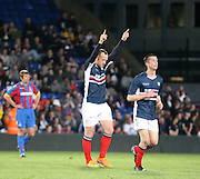 Charlie Adam celebrates his goal - Crystal Palace v Dundee - Julian Speroni testimonial match at Selhurst Park<br /> <br />  - &copy; David Young - www.davidyoungphoto.co.uk - email: davidyoungphoto@gmail.com