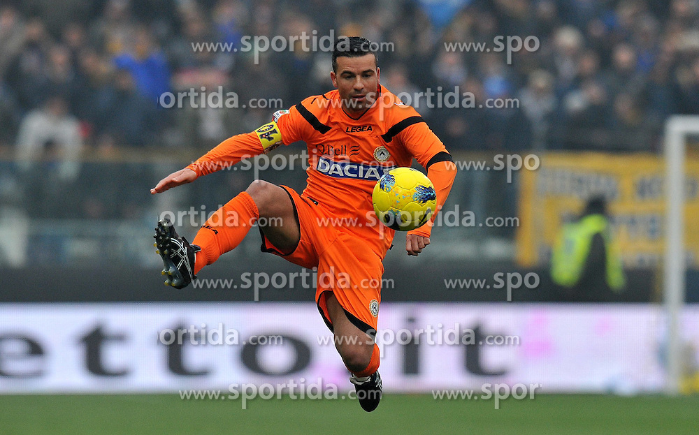 20.11.2011, Stadion Ennio Tardini, Parma, ITA, Serie A, FC Parma vs Udinese Calcio, 12. Spieltag, im Bild Antonio DI NATALE (Udinese) // during the football match of Italian 'Serie A' league, 12th round, between FC Parma and Udinese Calcio at Stadium Ennio Tardini, Parma, Italy on 20/11/2011. EXPA Pictures © 2011, PhotoCredit: EXPA/ Insidefoto/ Alessandro Sabattini..***** ATTENTION - for AUT, SLO, CRO, SRB, SUI and SWE only *****
