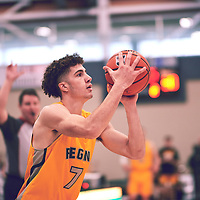 Regina Cougars Men's Basketball on November 16th, 2018 vs the University of Manitoba Bisons.