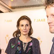 NLD/Katwijk/20171030 - 7 jaar Soldaat van Oranje - De Musical, Prins Pieter Christiaan en partner Anita van Eijk