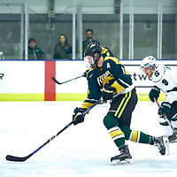 during the Men's Hockey Home Game on Sat Oct 27 at Co-operators Center. Credit: Matt Johnson/Arthur Images
