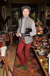 HENRY CONWAY at the launch of Sunday Brunch at Momo's, 25 Heddon Street, London on 23rd February 2014.