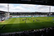 FODBOLD: Opvarming før playoff-kampen til ALKA Superligaen mellem Viborg FF og FC Helsingør den 4. juni 2017 på Energi Viborg Arena. Foto: Claus Birch