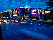 01 AUGUST 2018 - BANGKOK, THAILAND:     The new Stadium One, a sports themed mall in Bangkok.    PHOTO BY JACK KURTZ