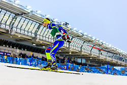 19.02.2016, Salpausselkae Stadion, Lahti, FIN, FIS Weltcup Nordische Kombination, Lahti, Langlauf, im Bild Maxime Laheurte (FRA) // Maxime Laheurte of France competes during Cross Country Gundersen Race of FIS Nordic Combined World Cup, Lahti Ski Games at the Salpausselkae Stadium in Lahti, Finland on 2016/02/19. EXPA Pictures © 2016, PhotoCredit: EXPA/ JFK