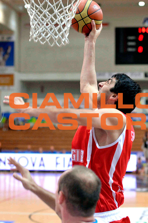 DESCRIZIONE : Trento Trentino Basket Cup Nazionale Italia-Georgia<br /> GIOCATORE : Shermandini  <br /> CATEGORIA : Tiro<br /> SQUADRA : Georgia<br /> EVENTO :  Trento Trentino Basket Cup<br /> GARA : Italia-Georgia<br /> DATA : 07/08/2013<br /> SPORT : Pallacanestro<br /> AUTORE : Agenzia Ciamillo-Castoria/GiulioCiamillo<br /> Galleria : FIP Nazionali 2013<br /> Fotonotizia : Trento Trentino Basket Cup Nazionale Italia-Georgia<br /> Predefinita :