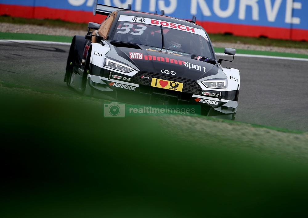 October 13, 2017 - Hockenheim, Germany - Motorsports: DTM Hockenheim-II 2017,.AUTO BILD MOTORSPORT Audi RS 5 DTM #33 (Audi Sport Team Rosberg), René Rast  (Credit Image: © Hoch Zwei via ZUMA Wire)