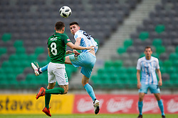 Danijel Miskic of NK Olimpija Ljubljana during football match between NK Olimpija Ljubljana and ND Gorica in Round #29 of Prva liga Telekom Slovenije 2017/18, on April 29, 2018 in SRC Stozice, Ljubljana, Slovenia. Photo by Urban Urbanc / Sportida