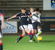 29-11-2016 Dundee v Falkirk Development League