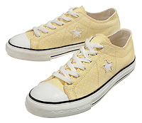 Yellow converse all stars
