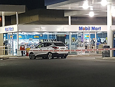 Auckland-Alleged firearm standoff at Mercer Mobil
