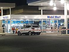 Auckland-Alleged firearm standoff at Mercer Mobil