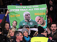 Rugby Union - 2019 Killick Cup - Barbarians vs. Fiji<br /> <br /> Rory Best of Barbarians and ireland banner in the crowd, at Twickenham.<br /> <br /> COLORSPORT/ANDREW COWIE