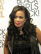 5 April 2014 - Washington, DC:  DJ Beverly Bond, Founder Black Girls Rock! attends the launch of ROCK! LIKE A GIRL red carpet at the One Mic Hip Hop Festival held at the John F. Kennedy for the Performing Arts on April 5, 2014 in Washington, D.C.  (Terrence Jennings)