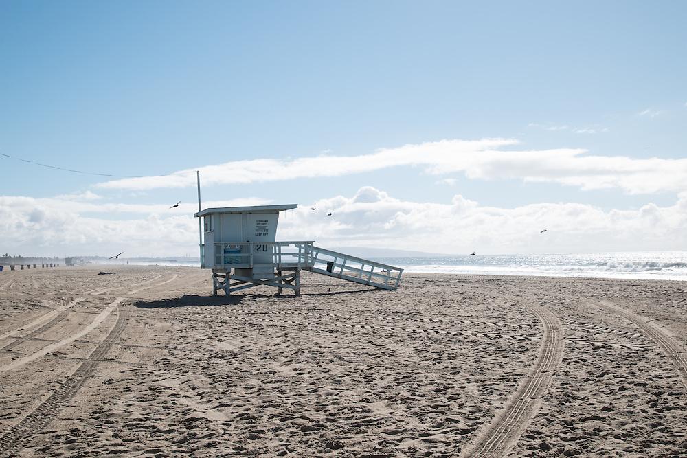 After the rain at the Santa Monica Beach, CA 11.21.16