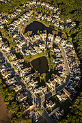 Aerial view of Hamlin Plantation development in Mount Pleasant, SC.