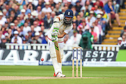 Moeen Ali during the 3rd Investec Ashes Test match between England and Australia at Edgbaston, Birmingham, United Kingdom on 30 July 2015. Photo by Shane Healey.