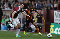 Football - 2016 / 2017 Premier League - Burnley vs. Hull City<br /> <br /> Abel Hernandez of Hull City and Michael Keane of Burnley during the Premier League match between Burnley and Hull City at Turf Moor. <br /> <br /> COLORSPORT/LYNNE CAMERON