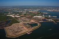 Maryland Port Administration Cox Creek Property Aerial photo at Key Bridge
