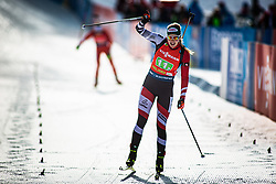 Lisa Theresa Hauser (AUT) finishing the Single Mixed Relay 6 km / 7,5 kmn at day 3 of IBU Biathlon World Cup 2019/20 Pokljuka, on January 23, 2020 in Rudno polje, Pokljuka, Pokljuka, Slovenia. Photo by Peter Podobnik / Sportida