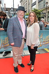 Simon Weston & Lucy Weston arriving at The opening night of Wind in The Willows at the London Palladium, Argyll Street, London England. 29 June 2017.<br /> Photo by Dominic O'Neill/SilverHub 0203 174 1069 sales@silverhubmedia.com