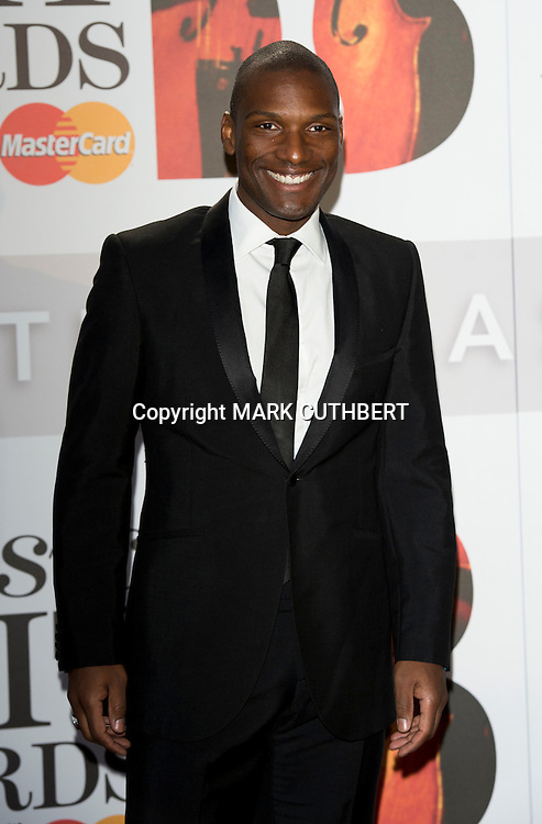 Noah Stewart arriving at the 2012 Classic Brit Awards at the Royal Albert Hall in London.