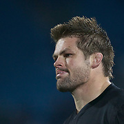All Blacks Captain Richie McCaw in action during the New Zealand V Fiji Rugby Union test match at Carisbrook, Dunedin. New Zealand. 22nd July 2011. Photo Tim Clayton