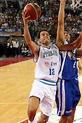 DESCRIZIONE : Roma Amichevole preparazione Eurobasket 2007 Italia Grecia <br /> GIOCATORE : Massimo Bulleri<br /> SQUADRA : Nazionale Italia Uomini <br /> EVENTO : Amichevole preparazione Eurobasket 2007 Italia Grecia <br /> GARA : Italia Grecia <br /> DATA : 30/08/2007 <br /> CATEGORIA : Tiro<br /> SPORT : Pallacanestro <br /> AUTORE : Agenzia Ciamillo-Castoria/G.Ciamillo<br /> Galleria : Fip Nazionali 2007 <br /> Fotonotizia : Roma Amichevole preparazione Eurobasket 2007 Italia Grecia <br /> Predefinita :