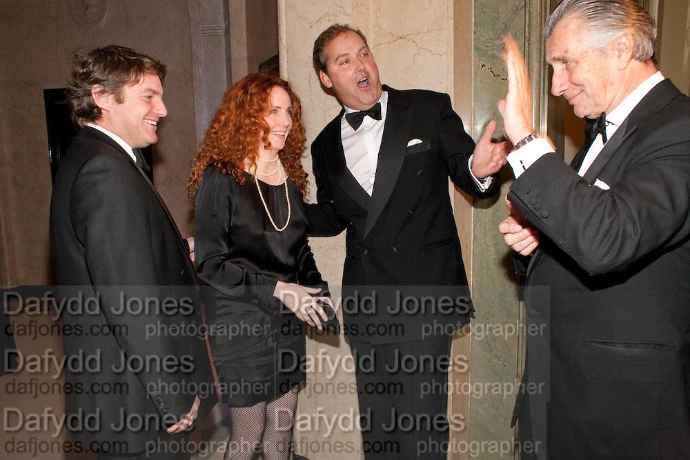 CHARLIE BROOKS; REBEKAH WADE; HON HARRY HERBERT; ARNAUD BAMBERGER, The cartier Racing Awards hosted by Arnaud Bamberger and the hon Harry Herbert. Claridges. London. 17 November 2009.