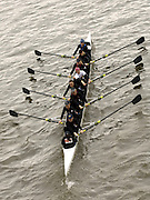 Chiswick, London. ENGLAND,11.03.2006,  New crew No. 169.Birmhm U/Mlw/Read U/Rebc/Thames/TSS, pass under, Chiswick Bridge,  before the start, going on to win the race in a time of 19:13.61,  during the 2006 Women's Head of the River Race,  Mortlake to Putney  on Saturday 11th March    © Peter Spurrier/Intersport-images.com.. 2006 Women's Head of the River Race. Rowing Course: River Thames, Championship course, Putney to Mortlake 4.25 Miles