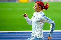 Nina Kolaric of Slovenia at warming up before the women's Long Jump Qualification during day seven of the 12th IAAF World Athletics Championships at the Olympic Stadium on August 21, 2009 in Berlin, Germany.(Photo by Vid Ponikvar / Sportida)