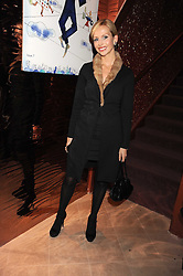 Actress ANNEKA SVENSKA at a party to celebrate the 10th birthday issue of Spears Wealth Management Survey held at Molton House, South Molton Street, London on 25th November 2008.