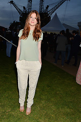 ROSE LESLIE at the Battersea Power Station Annual Party at Battersea Power Station, 188 Kirtling Street, London SW8 on 30th April 2014.